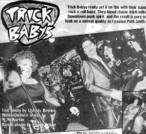Trick Babys (with Lynne Von Pang), Flipside, No. 105, Jan./Feb. 1997