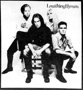 Laughing Hyenas (with Larissa Strickland), Noise for Heroes, No. 16, Spring 1989