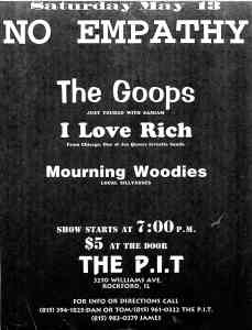 The Goops (with Eleanor Whitledge) at The Pit in Rockford, IL