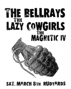 The Bellrays (with Lisa Kekaula) and Magnetic 4 (with Gina Miller), Rudyards, Houston, TX, by Charlie Esparza