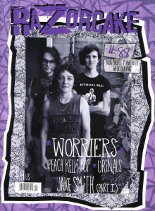 Worriers, front cover, Razorcake, No. 88